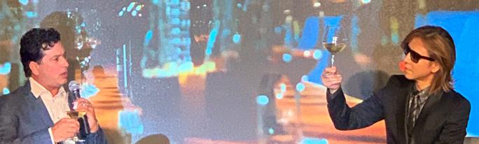 「Y by Yoshiki California」の新作ワインの発表会&試飲会に招待されました。